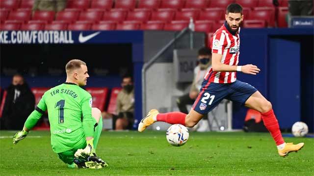 Carrasco cùng đồng đội đủ khả năng vùi dập Barca vào thời điểm này