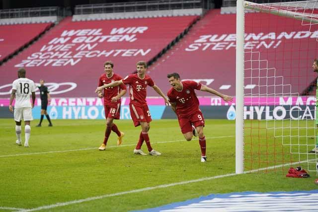 Các cầu thủ Bayern sẽ lại bắn hạ Frankfurt một cách dễ dàng